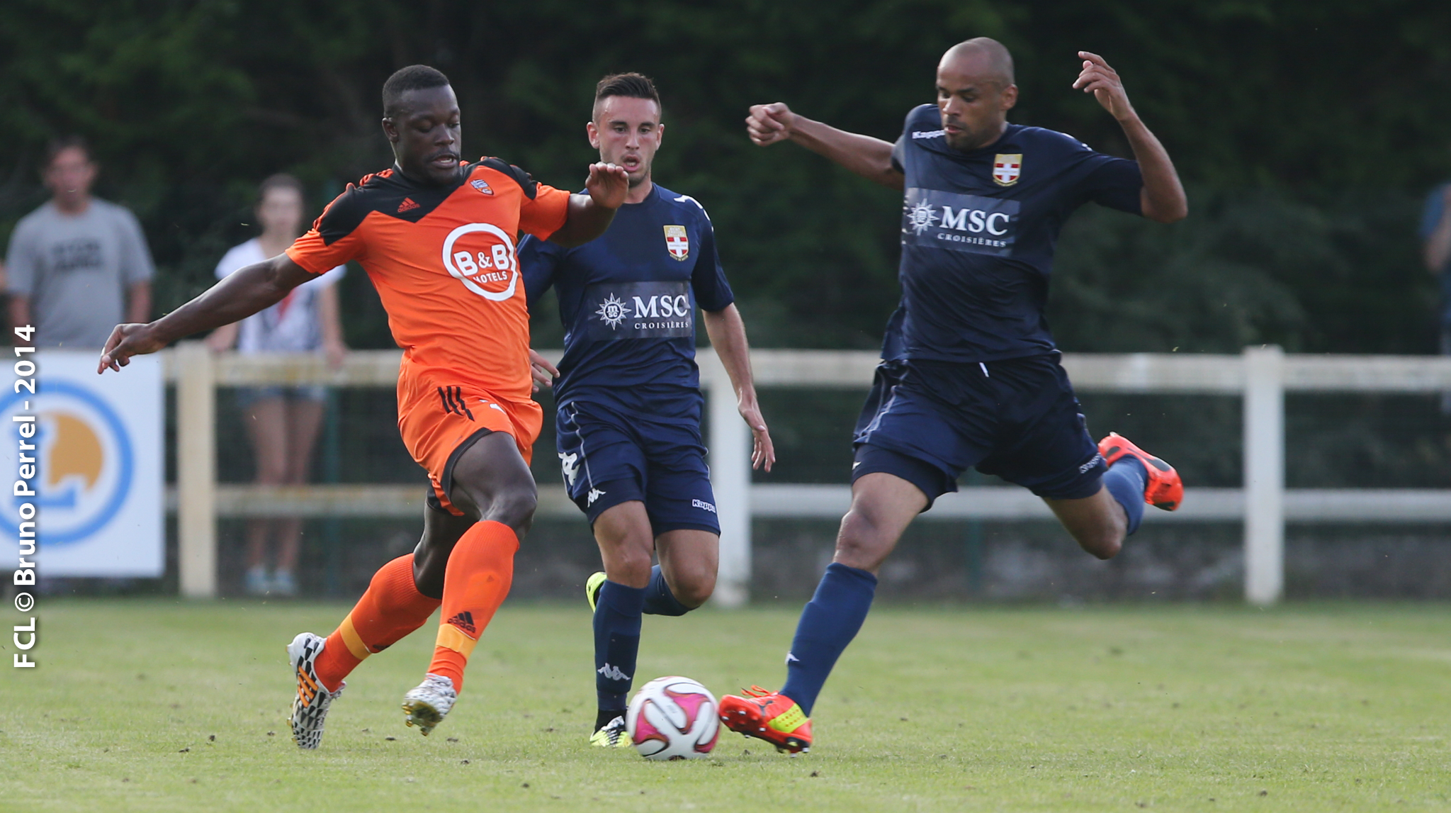 Football match fc lorient vs evian thonon amical 23 for Lorient match