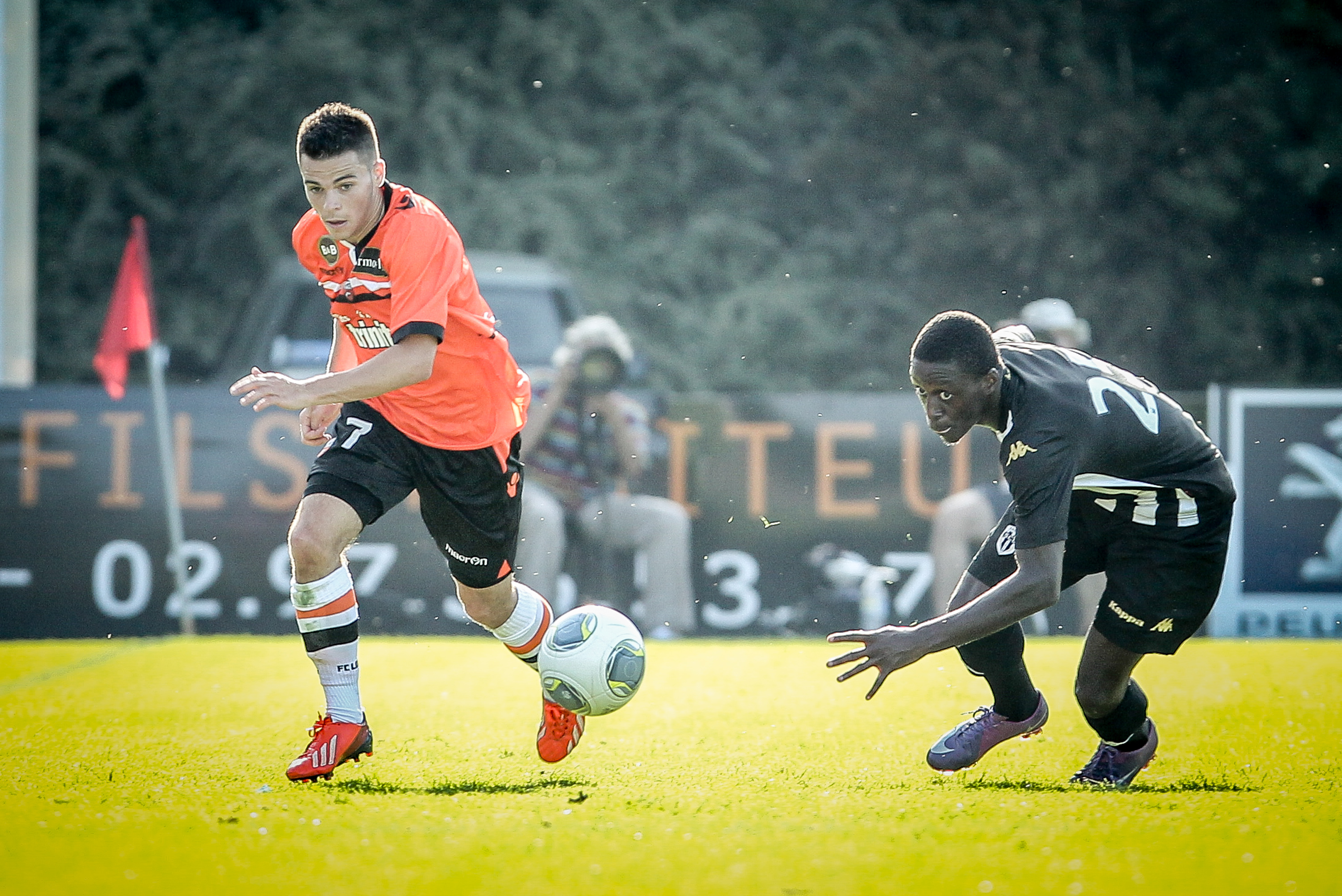Football match fc lorient vs angers ligue 1 13 07 for Lorient match